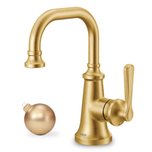 Moen Colinet Brushed Gold Single Handle Faucet