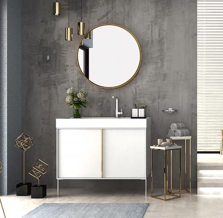 Transitional Bathroom Furniture