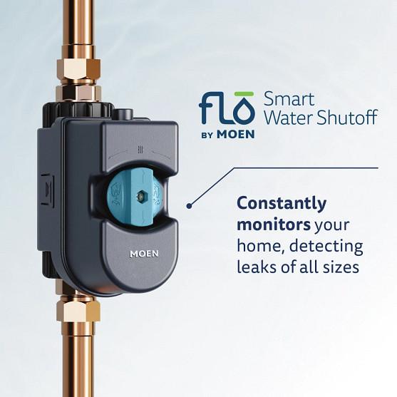 Flo by Moen Smart Water Shutoff Standard