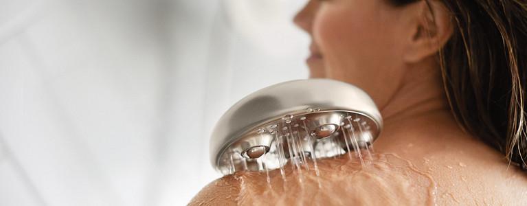 Hydro Roller™ Massage Combination Shower in Spot Resist Brushed Nickel Model 205C0SRN